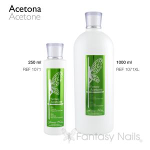Acetona, fragancia aloe vera