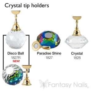 Crystal top holder