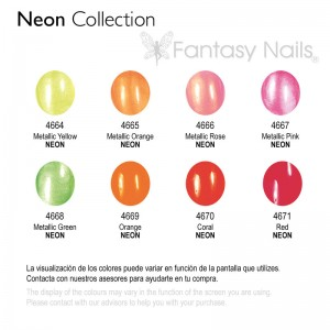 NEON COLLECTION ESMALTE PERMANENTE