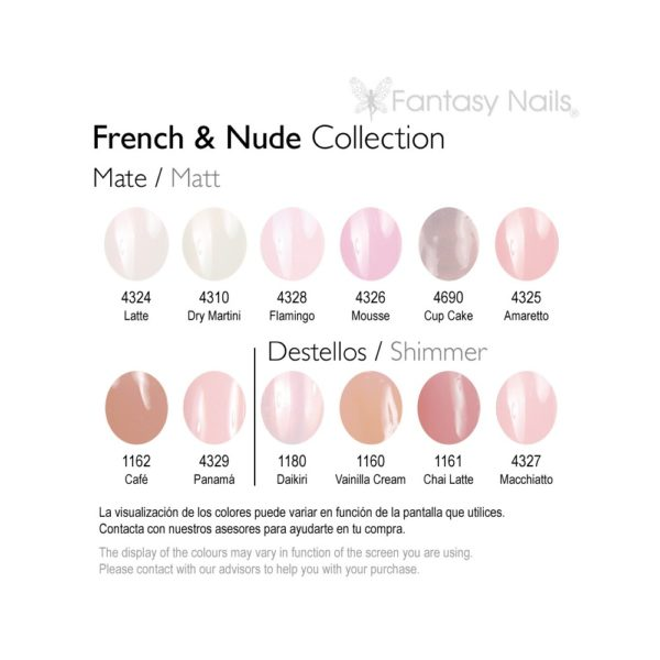 FRENCH & NUDE COLLECTION ESMALTE PERMANENTE