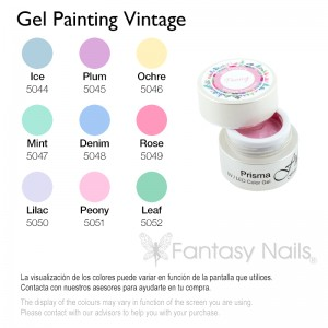 Gel Painting Coleccion Vintage