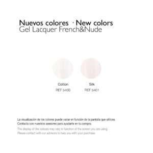 Esmalte Permanente – French y Nude
