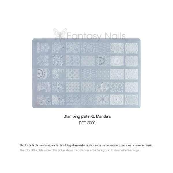 Placa Stamping XL 2000