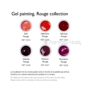 Gel Painting colección Rouge