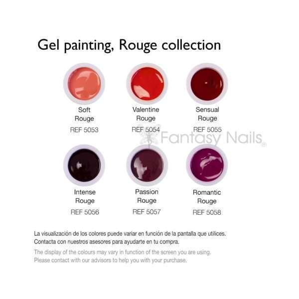 Gel Painting colección Rouge