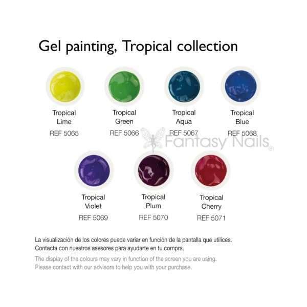 Gel Painting / COLECCIÓN TROPICAL