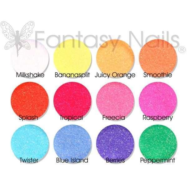 Purpurina glitter dust (efecto azúcar)