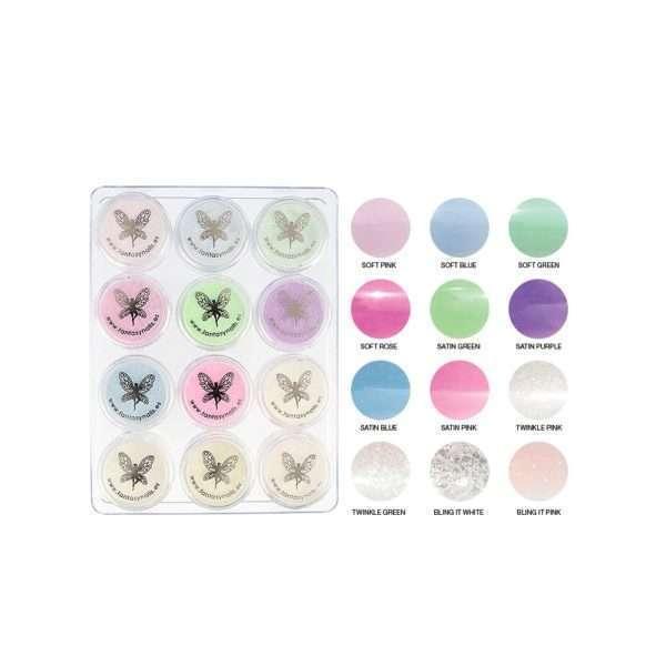 Kit polvo acrílico color / Colección BALLET