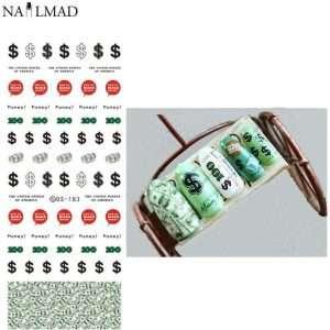 Pegatinas dolar billete