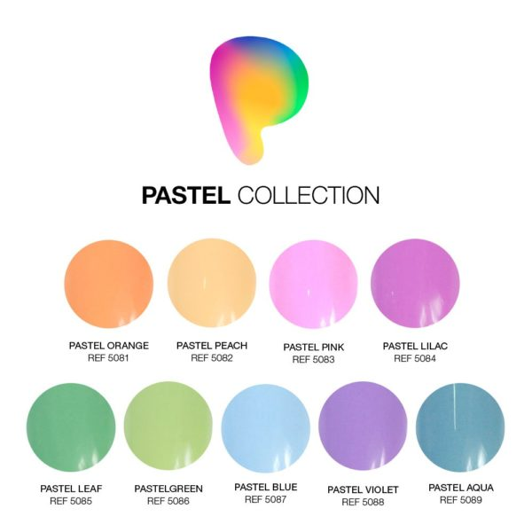Gel Painting PASTEL COLLECTION