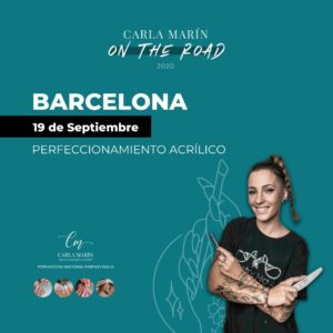 Barcelona | 19 de Septiembre |  Perfeccionamiento acrílico