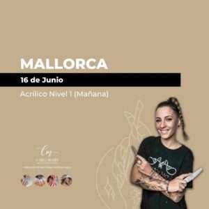 Acrílico Nivel 1 | Mallorca | Del 16 de Junio al 3 de Julio