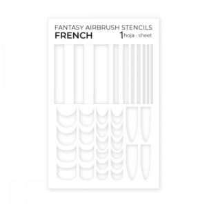 Plantillas Adhesivas para Aerógrafo French
