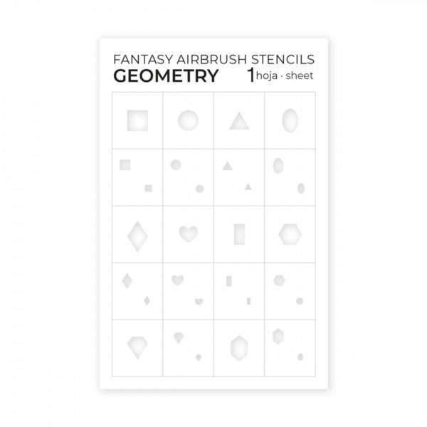 Plantillas para Aerógrafo Geometry