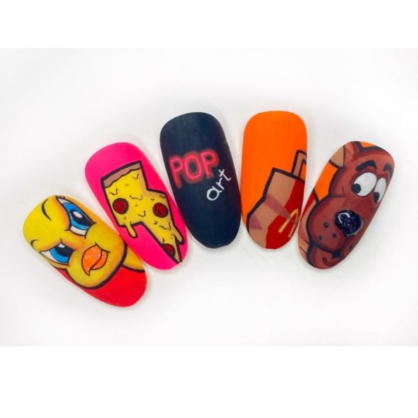 Curso online Decoración Pop Art Nails Design
