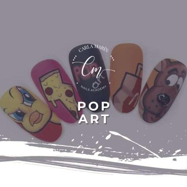 Curso online Decoración Pop Art Nails Design