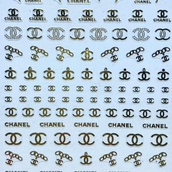 Pegatina Chanel cadenas