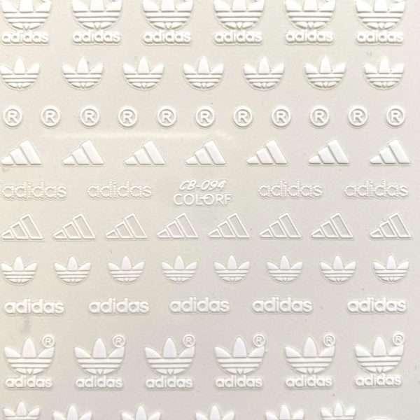 Pegatinas Adidas blanco 094