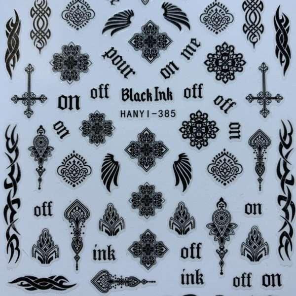 PEGATINAS BLACK INK OFF – 25