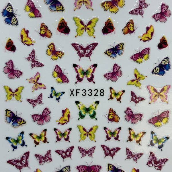 PEGATINAS BUTTERFLY