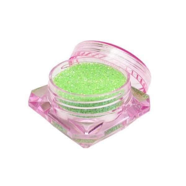 Glitter Neon Apple