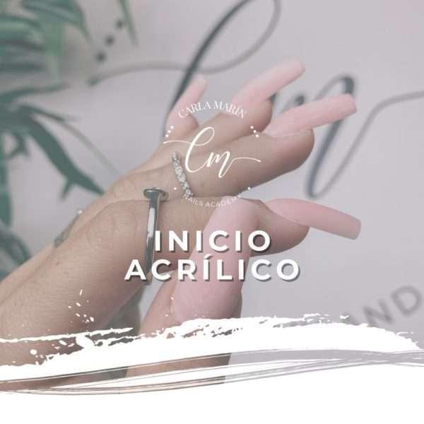 INICIO ACRÍLICO DEL 25 AL 29 DE OCTUBRE