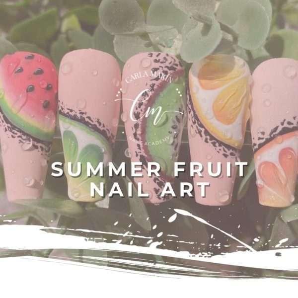 TALLER SUMMER FRUIT NAIL ART 28 MAYO