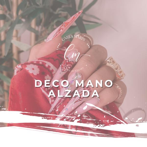 NAIL ART MANO ALZADA 9 SEPTIEMBRE